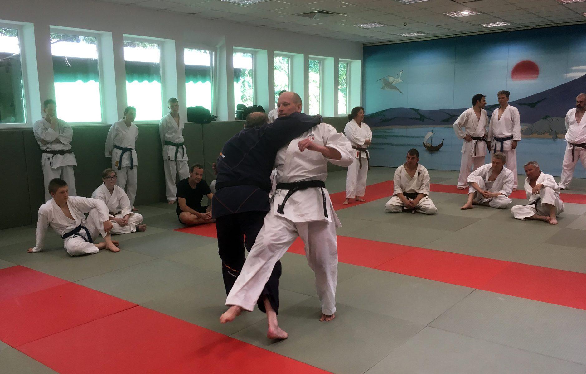 Karate meets Allkampf