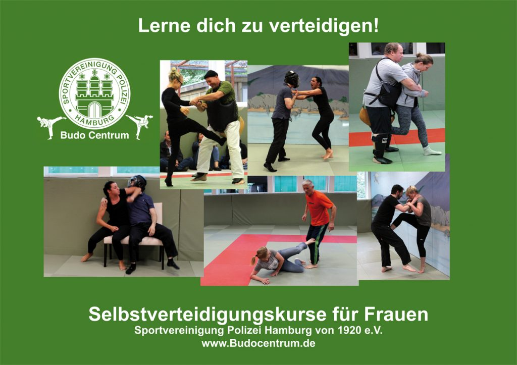 Frauenselbstverteidigung im Budocentrum Hamburg