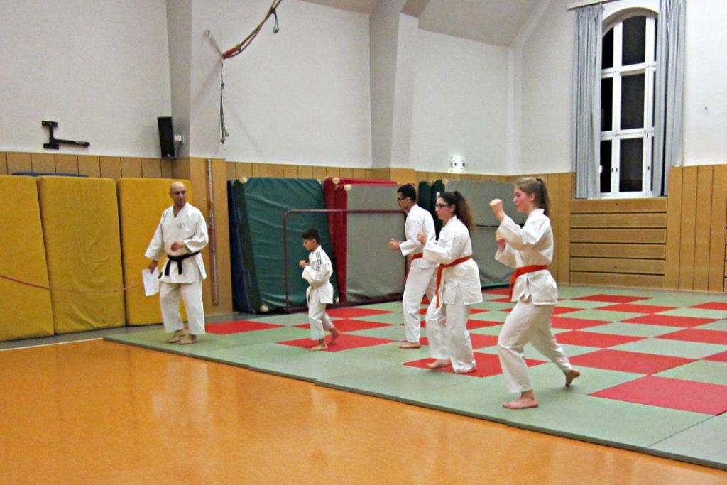 SV Polizei Hamburg auf der Veddel Karate