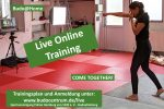 Live Online Training aus dem Budocentrum Hamburg