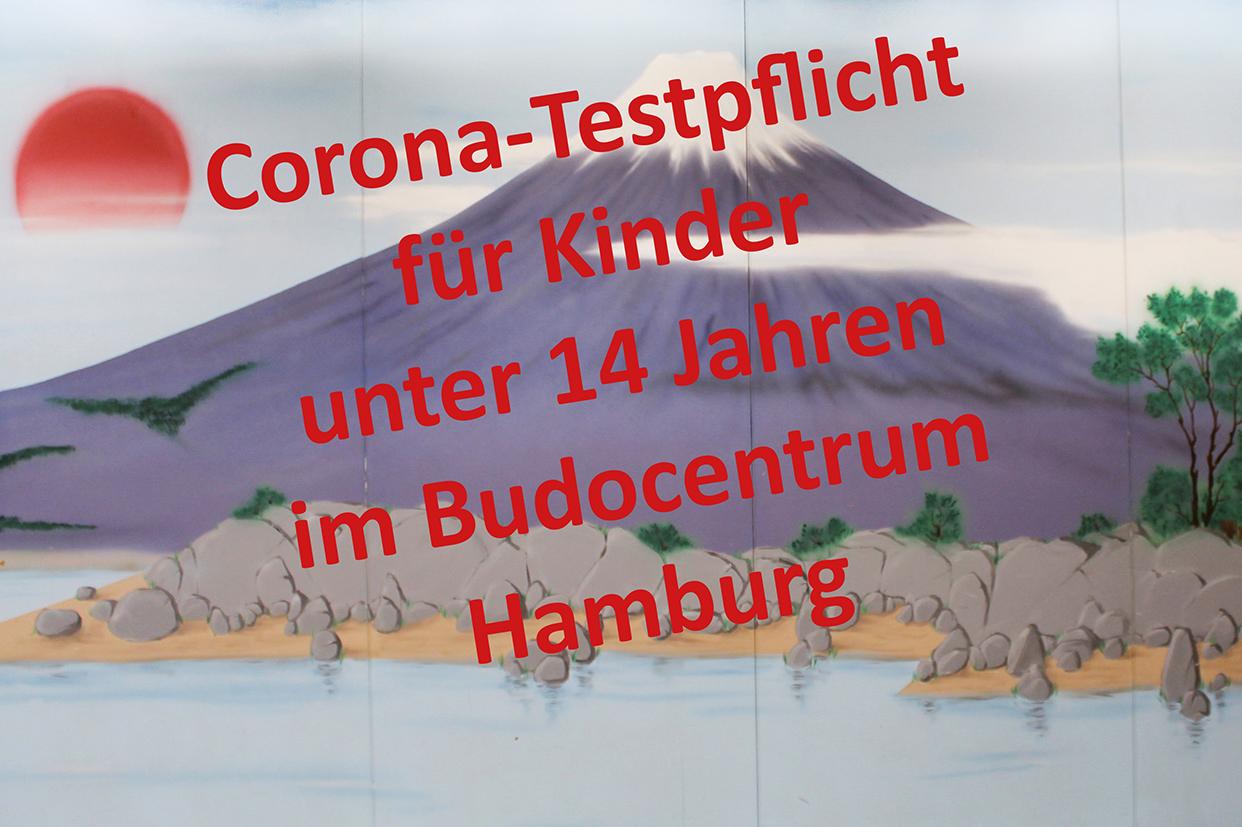 Temporäre Corona-Testpflicht für Kinder unter 14 Jahren im Budocentrum Hamburg